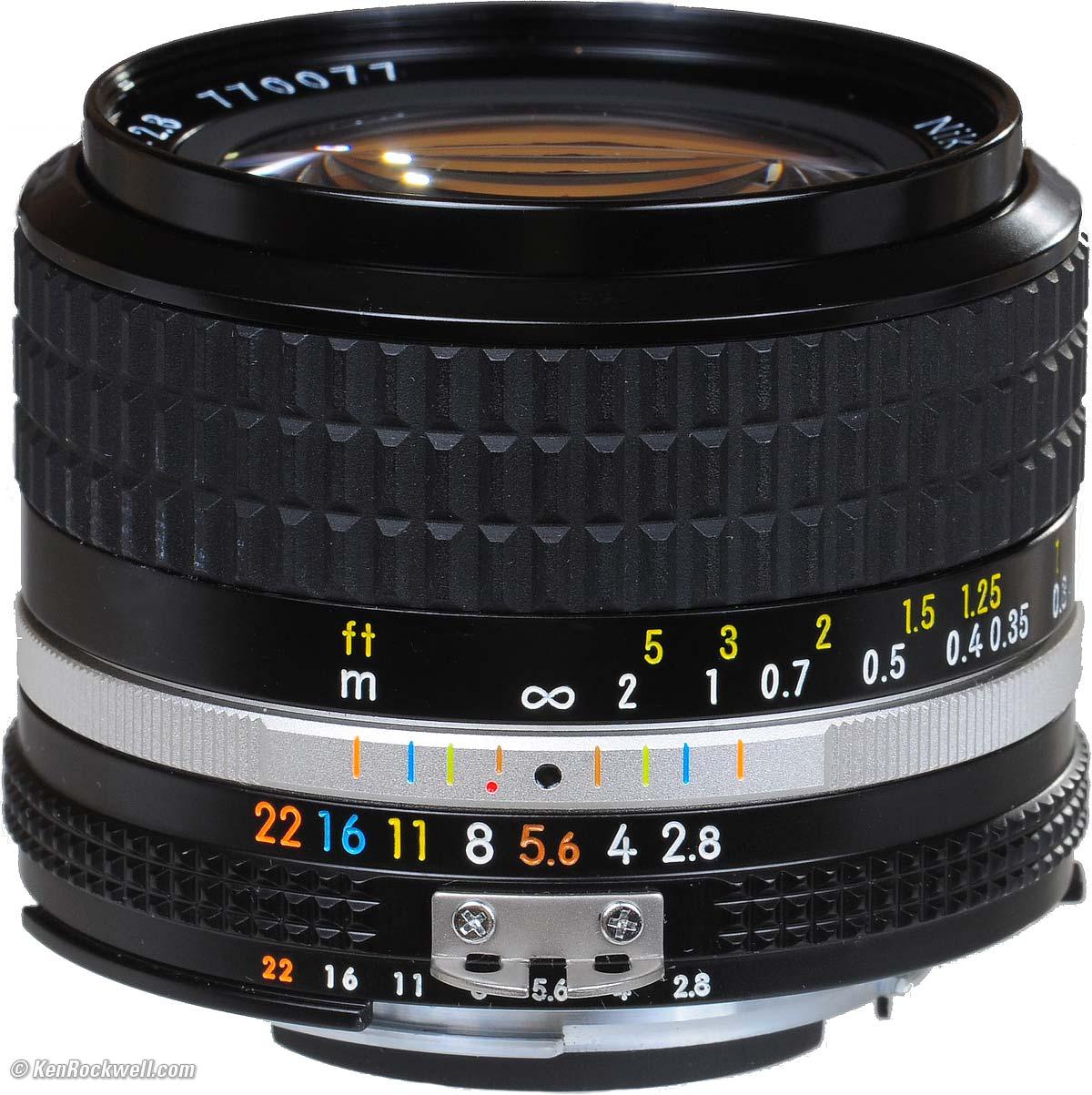 Nikkor 24mm f 2.8